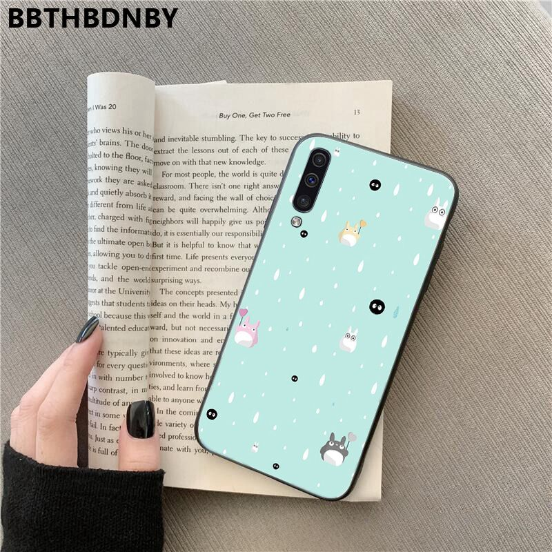 coque Long totoro For Galaxy A70