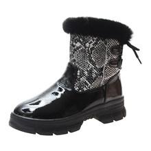 SOPHITINA özel tasarım çizmeler el yapımı yılan yuvarlak ayak oyalamak kare topuk dantel-up peluş sıcak satış ayakkabı kadın yeni çizmeler MO384(China)