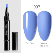 NICOLE DIARY3 в 1 Гелевый лак для ногтей ручка Блестящий одношаговый Гель-лак для нейл-арта Hybrid 56 цветов простой в использовании УФ-гель Lacque(China)