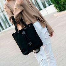 B02030 женские холщовые сумки через плечо переносная Повседневная Сумка Многоразовые Сумки для покупок на шнурке(China)