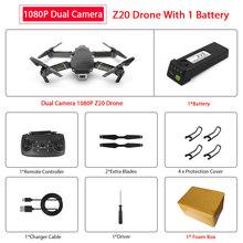 ZWN Z20 RC Drone com FPV WI-FI 480P 1080P 4K HD Dual Camera Quadcopter Opitcal Fluxo Gesto controle Mini Drone VS SG106 E58 Dron(China)