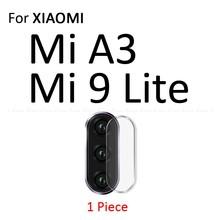 Dla Xiao mi mi A3 9T 9 SE 8 Lite PocoPhone F1 czerwony mi uwaga 8T 8 7 6 5 Pro obiektyw aparatu osłona ekranu tylny obiektyw folia ochronna(China)