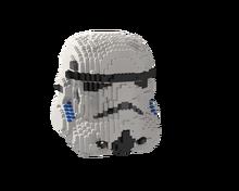 Новый Legoins Lepins строительный блок Звездные войны moc-41859 шлем человека Размер Империя кавалерия шлем сборка игрушка мальчик подарок на день ро...(Китай)