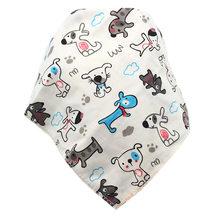 Bebé impermeable triángulo de algodón de dibujos animados de niño Baberos Bandana Babador driblar babero recién nacido Slabber paño absorbente(China)