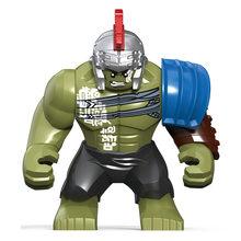 マーベルアベンジャーズ Endgame ビッグ Thanos さんハルクアイアンマンスパイダーマンヴェ Hulkbuster 黒パンサー Legoingly ビルディングブロック子供のおもちゃ(China)