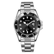 Offres spéciales hommes montres haut marque YOLAKO luxe hommes mode militaire en acier inoxydable Date Sport Quartz analogique montre-bracelet Relogio(China)
