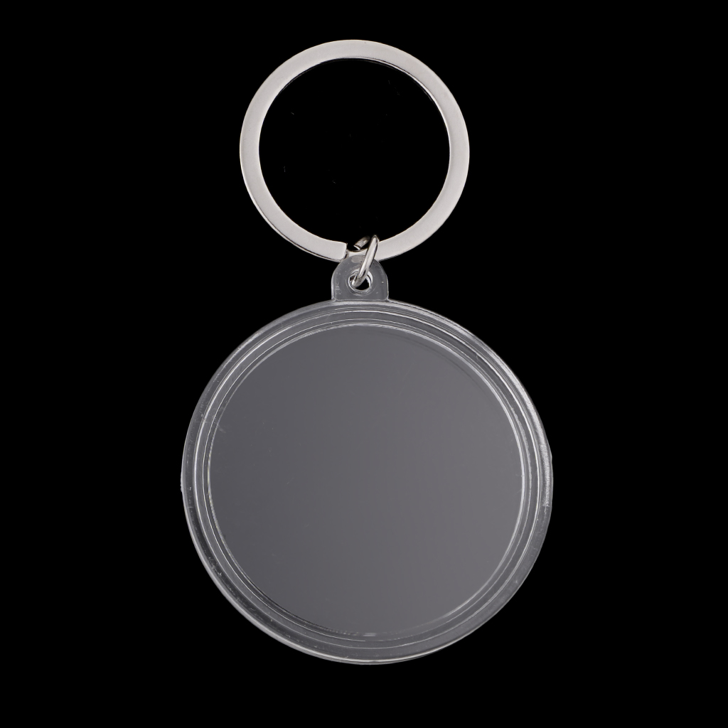 Coin Holder Keychain 40mm Souvenir Commemorative Coin Keyring Collection Box Key chains