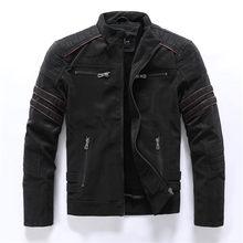 겨울 남성 폭격기 재킷 캐주얼 군사 남성 Outwear 양털 두꺼운 따뜻한 재킷 자켓 망 Pu 가죽 야구 코트(China)