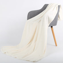 Soft Fleece Warm Winter Thick Blanket Bedspread Plaid Travel Flannel Armchair Couch Coverlet Baby Bedding Sheet(China)