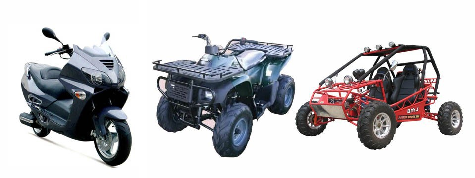 Scooter+ATV+Buggy