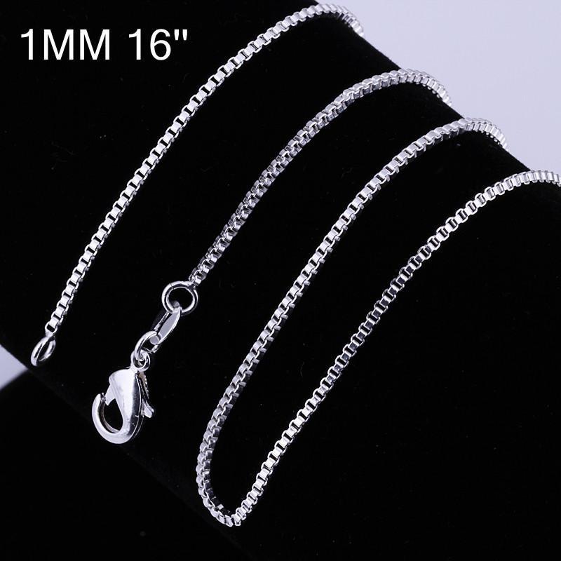 Колье-цепь Fashion kc007/16, /box 1 925 KC005