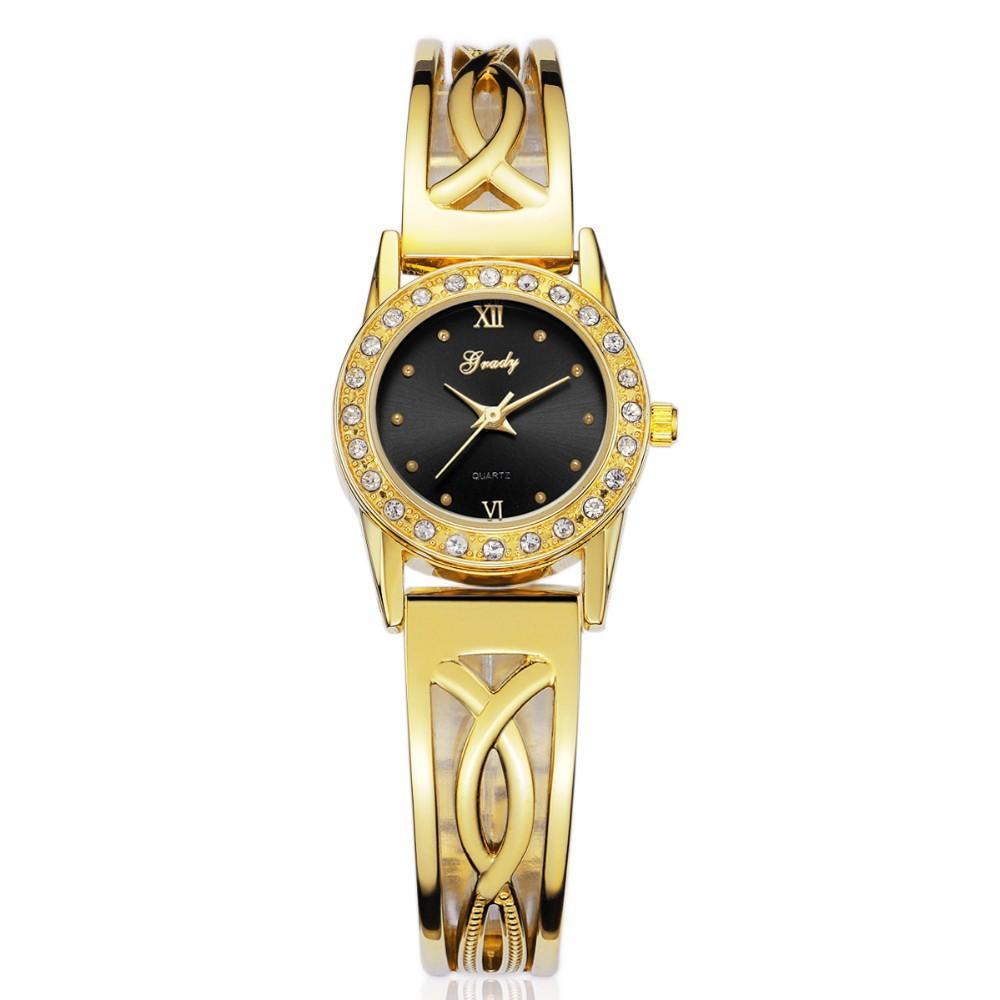 Grady famous brand watch gold watch women watches women fashion luxury watch wristwatches free shipping