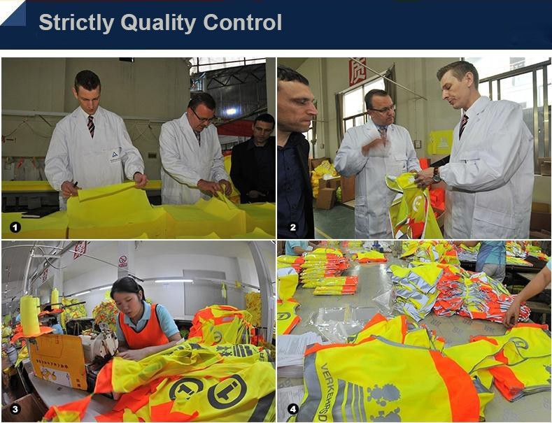 SPARDWEAR High visibility Safety reflective vest print logo work vest multi pockets uniform free shipping