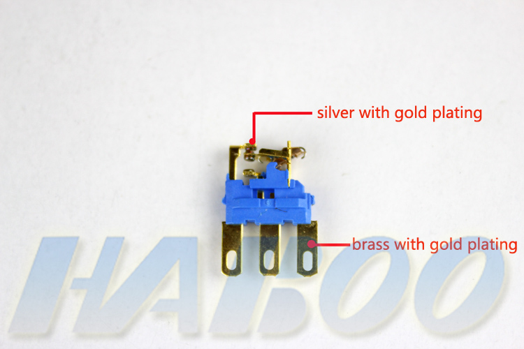 1pcs packing 2position key switch with 2NO+2NC 6pins electrical key switch integrated type 5A 250V