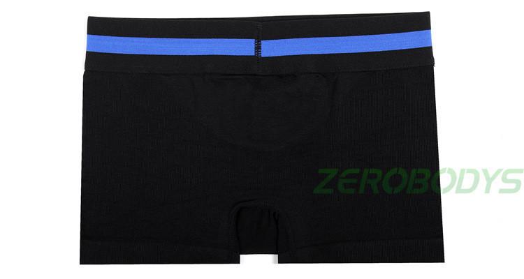 Zerobodys мужчины формирование боксер нижнее белье бодибилдинг свободно дышать приталенный - линия прорезиненная тесьма ткань булочка подъемник