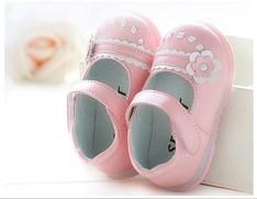 девочки sandalias первый ходунки baby Детские сандалии Обувь sapatos infantil bebe весна осень цветок розы мягкий единственная девушка обувь