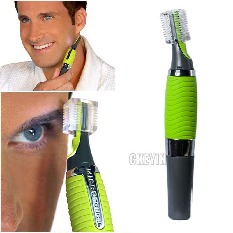 Микро точность ухо нос триммер многофункциональный личная электрический встроенный из светодиодов свет уход за кожей лица волос тример 0.49-RCS29G