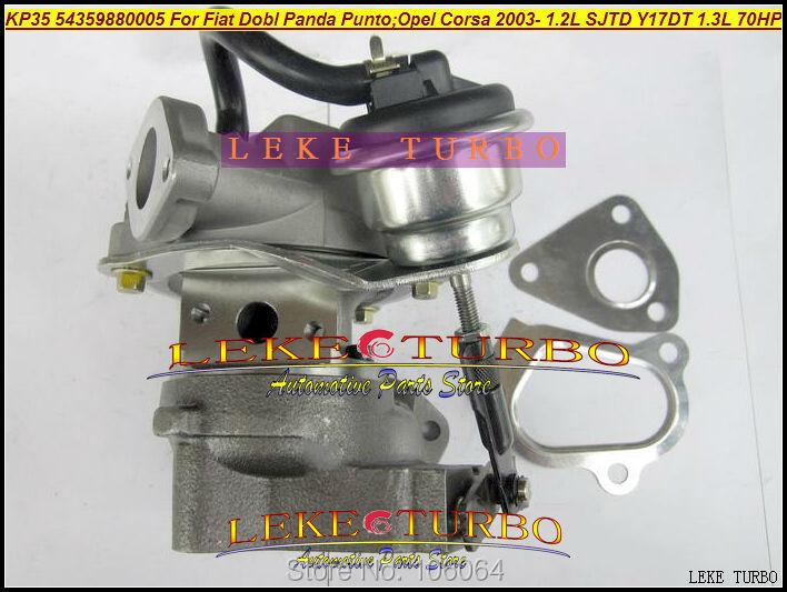 KP35 54359880005 54359700005 Turbo For FIAT Dobl Panda Punto;OPEL Corsa 2003- 1.2L SJTD Y17DT 1.3L 68HP-70HP Turbocharger (3)