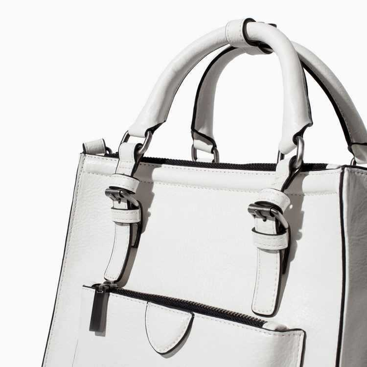 Famous Brand Small  Women Handbags 5 Color Vintage ZA Smiley Bag