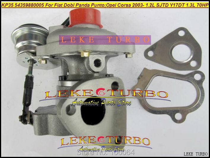 KP35 54359880005 54359700005 Turbo For FIAT Dobl Panda Punto;OPEL Corsa 2003- 1.2L SJTD Y17DT 1.3L 68HP-70HP Turbocharger