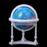 новый новый 1:12 масштаб миниатюрный глобус с подставкой для кукольный домик