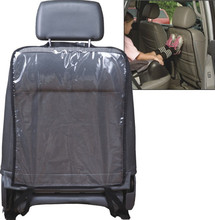 transparent Car Seat Back Protector Cover Backseat for Children Kick Mat Protects from Mud Dirt waterproof car seat covers