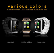 2016 New Update U8 W8 GT08 Smart Bluetooth Watch GV08s Wristwatch for Android Wrist Watch With 2.0MP Camera Support SIM Card TF