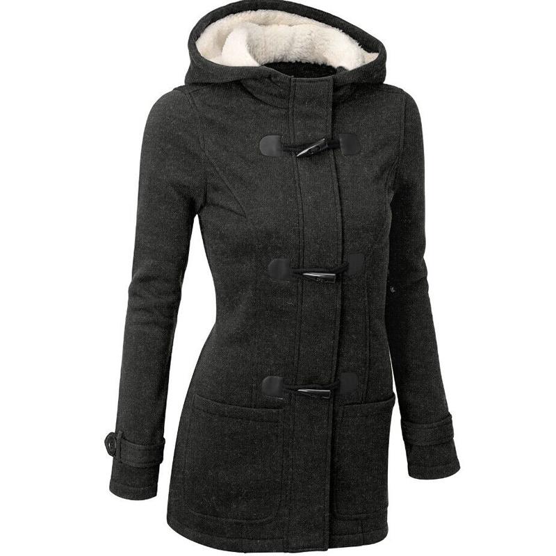 Горячая распродажа европейский стиль 2015 новинка флокирование женщины пальто зима