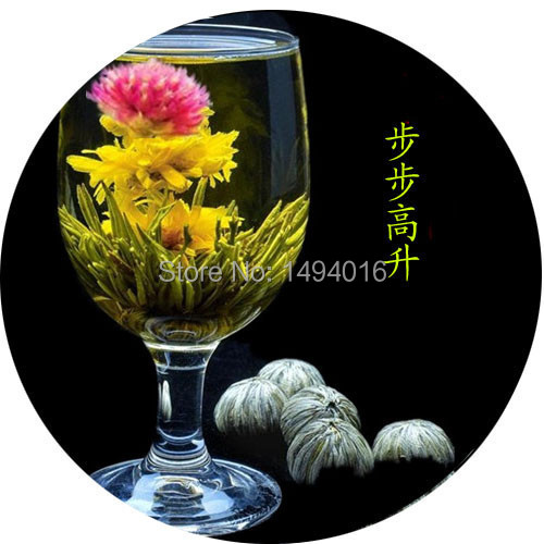 18 pcs Different kinds Chinese Blooming Flower Tea 100 Handmade Artistic Blossom Flower Tea ball Green
