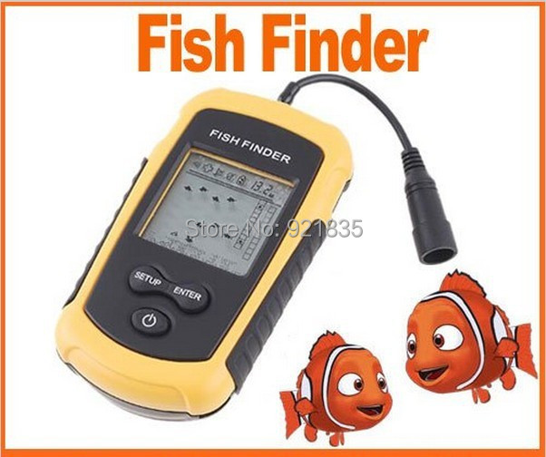 2015 NEW 0.7m to 100m (2ft to 328ft) boat fish finder sonar fish finder line fish finder portable fish finder free shipping(China (Mainland))
