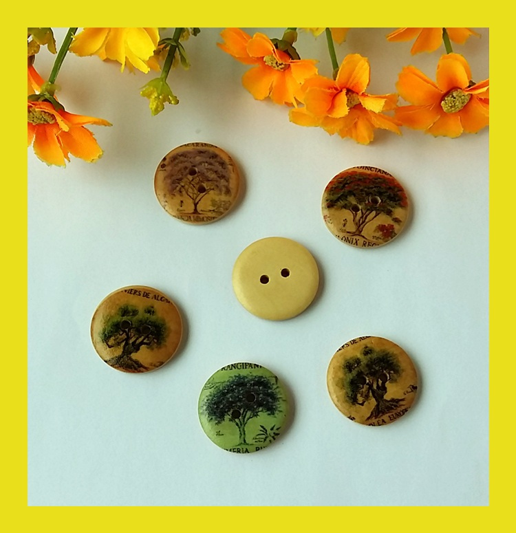 Buy 20 pcs lot hot sale mixed colorful for Craft buttons for sale
