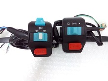 Left Right Side Alloy Handle Switch Control Set for GY6 50 100 125cc 150cc Moped Scooters ATV