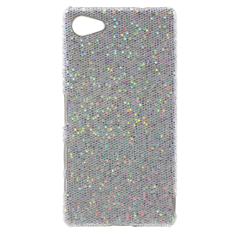 Glitter Sequins Sony Xperia Z5 Compact Hard Cases Leather Coated Hard Back Case Sony Xperia Z5 Compact