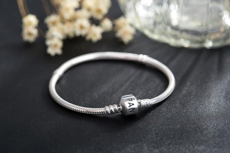 Wholesale Fashion Jewelry 3MM Snake Chain 16-23cm charm Bracelets & Bangles European Beads fits Pandora bracelets DIY bracelet(China (Mainland))