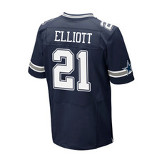 Men's 21 Ezekiel Elliott Jerseys 4 Dak Prescott Embroidery 88 Dez Bryant 22 Emmitt Smith 82 Jason Witte Jersey Thanksgiving blue(China (Mainland))