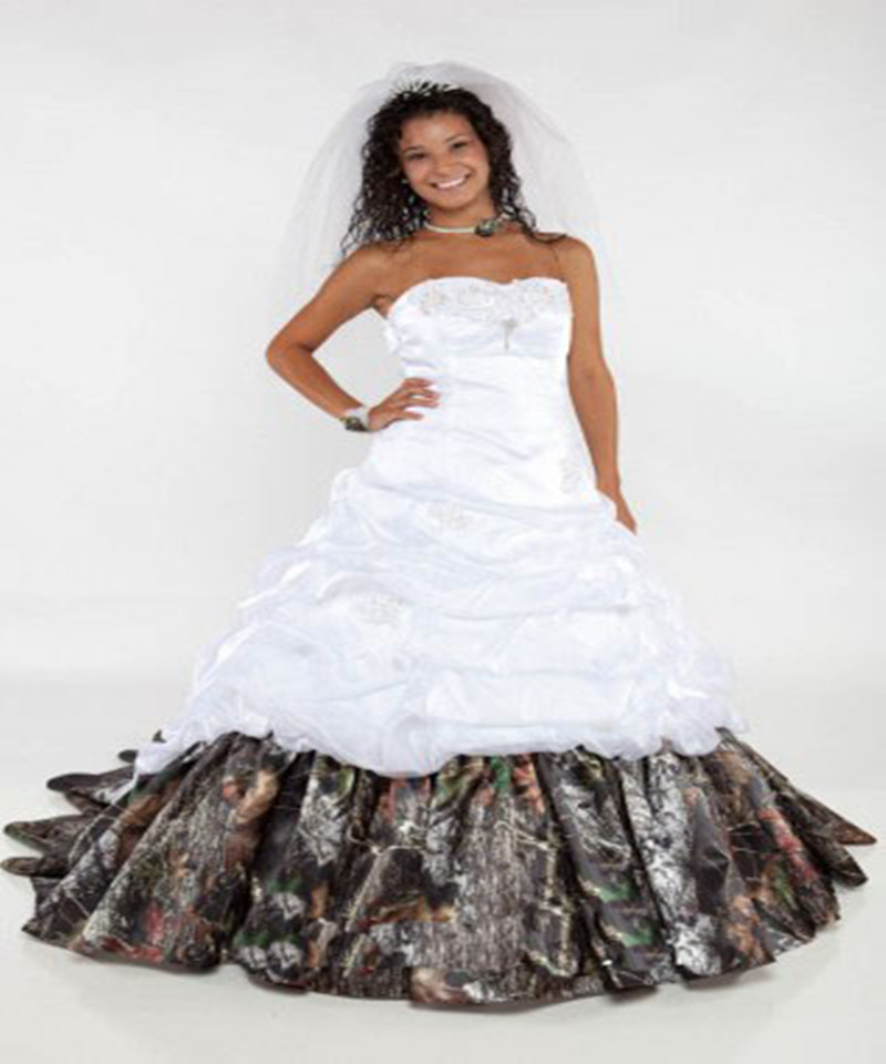 Mossy Oak Wedding Dresses