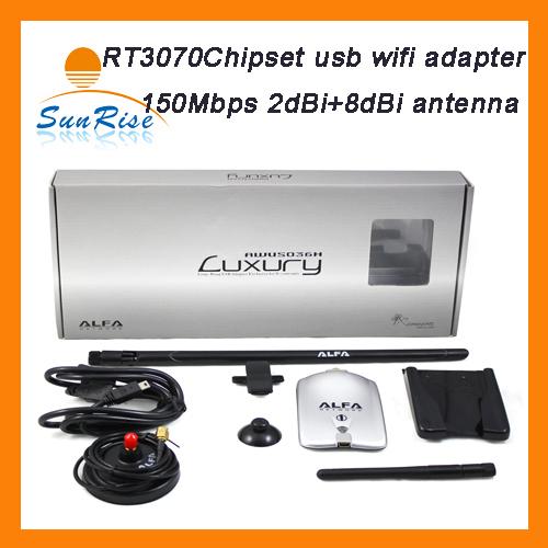 Original Alfa AWUS036H Wireless usb adapter 150Mbps RT3070 high power alfa luxury usb adapter alfa usb wifi adapter(China (Mainland))