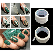 1 Roll New Soft Nail Art Tips Protect Masking Tapes Striping Line Sticker Decor Tool DIY free shipping