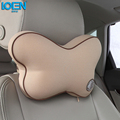 Quality Assurance Car Headrest Seat Cover Pillow Butterfly Shaped Design Headrest Space Memory Foam Car Pillow