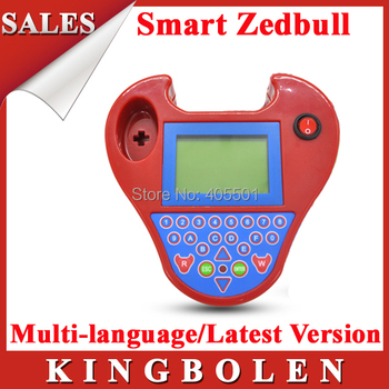 Highly Recommand 2015 New Mini Pocket Type No Tokens No Login Card Zed-bull Auto Key Transponder Programmer Smart Zed bull