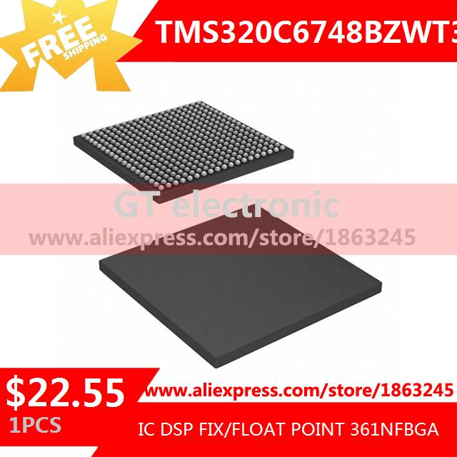 Free Shipping Voltage Regulator TMS320C6748BZWT3 IC DSP FIX/FLOAT POINT 361NFBGA 320C6748 TMS320C6748 1pcs(China (Mainland))
