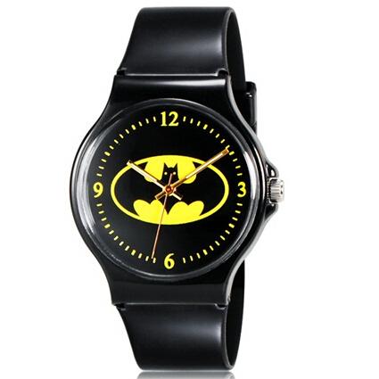 NATATE Willis Watches for Mini Kids Students Fashionable Bats Pattern Analog Wrist Watch(China (Mainland))