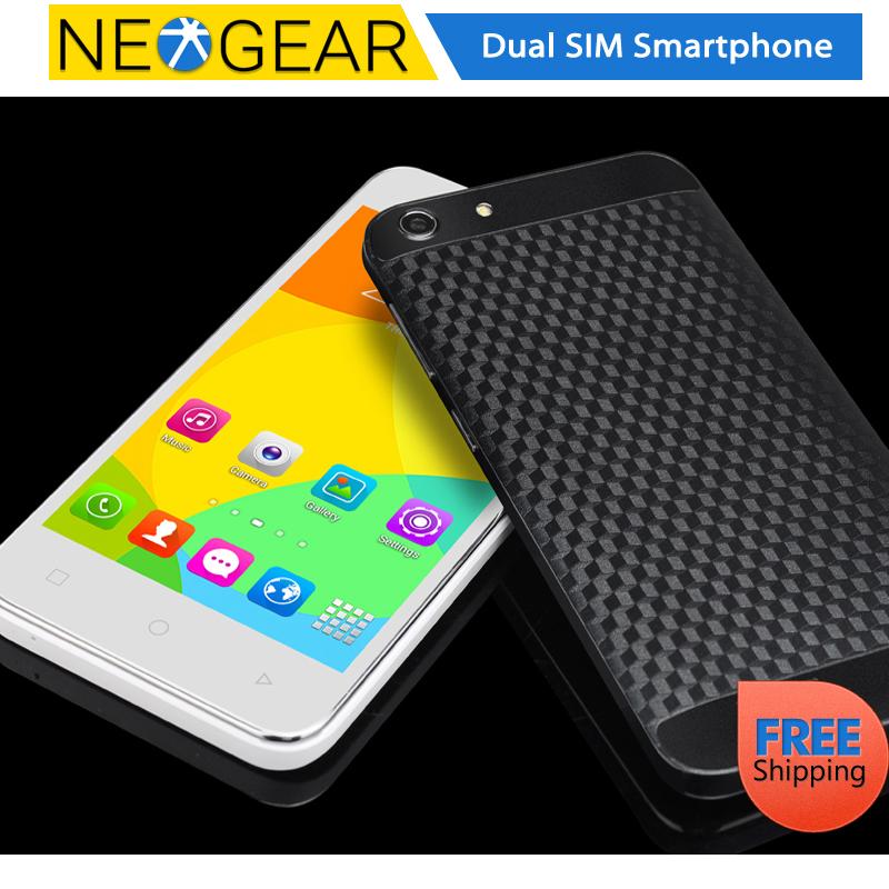 Original E-ceros Android 4.4 Mobile Phone- 5 Inch IPS Screen, MTK6572 CPU, Android Kit Kat, 512MB RAM, 4GB Memory, Micro SD Slot(China (Mainland))