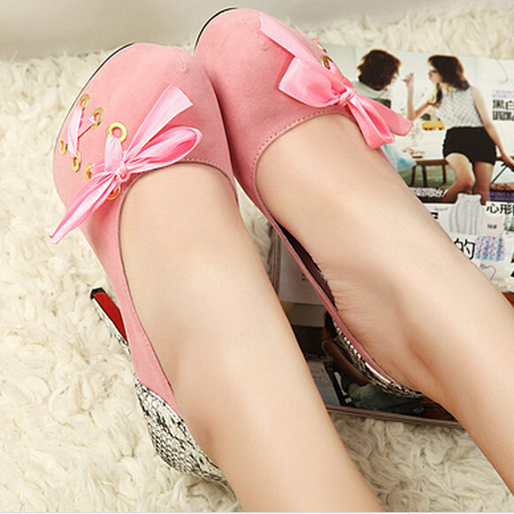 2015 New Spring Fashion Women Pumps Platforms High Heel Shoes Woman Sexy Bowtie Glitter Career Single Shoes Evening Party Shoes <br><br>Aliexpress