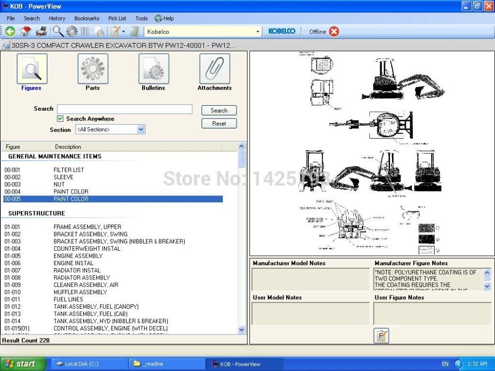 Kobelco Parts Catalog 2012