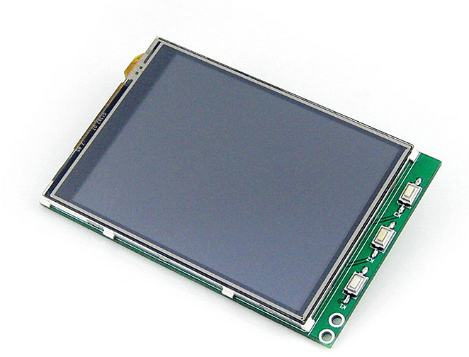 Raspberry Pi 3.2 -inch B/B + tree blackberry LCD touch-screen display screen(China (Mainland))