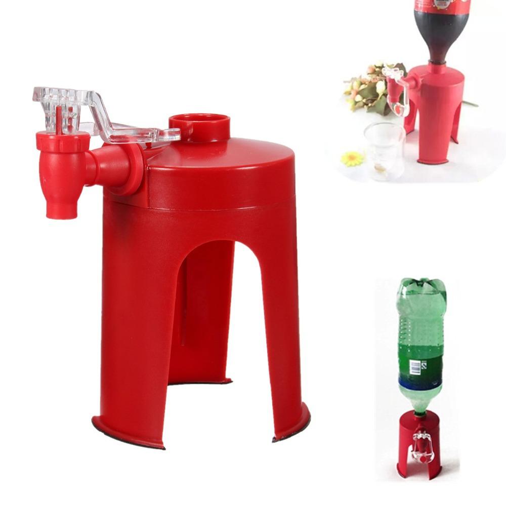 Home Kitchen Bar Gadgets accessories Drinking Soda Coke Dispense Gadget Fizz Saver Dispenser Squeeze Water Machine(China (Mainland))