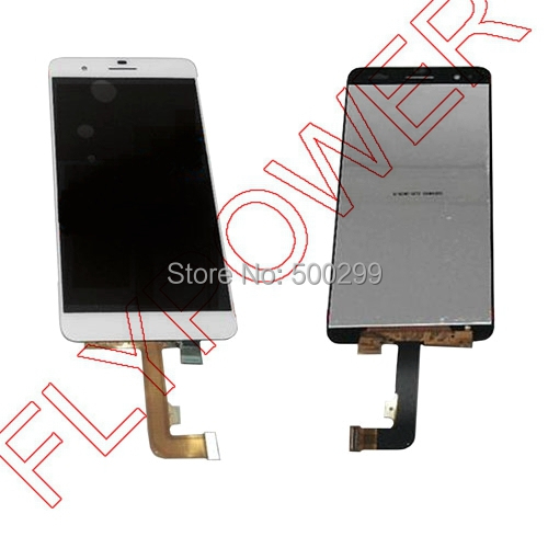 For Huawei Honor 6 Plus LCD Display with Touch Digitizer Assembly free shipping; PE-UL00 / Unicom 4G version;White;100% warranty