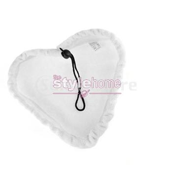 Free Shipping Reusable Washable Replacement Microfiber Pad for H2O Steam Mop White