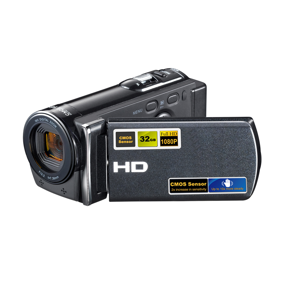 camara de video hd HDV-601S 1080P Full HD 16x Digital Zoom Video Camera Sport digital video Camcorder with 3'' TFT LCD Max.20MP(China (Mainland))